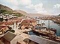 General view from Walkendorffs Tower, Bergen, Norway (LOC).jpg