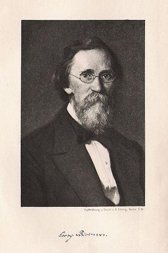 Georg Büchmann - Georg Büchmann.