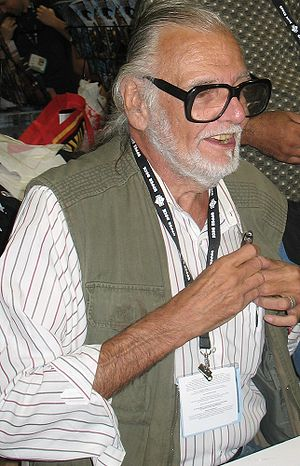 George A. Romero signing at Comic Con, 2007.