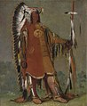 George Catlin - Máh-to-tóh-pa, Four Bears, Second Chief, in Full Dress - 1985.66.128 - Smithsonian American Art Museum.jpg