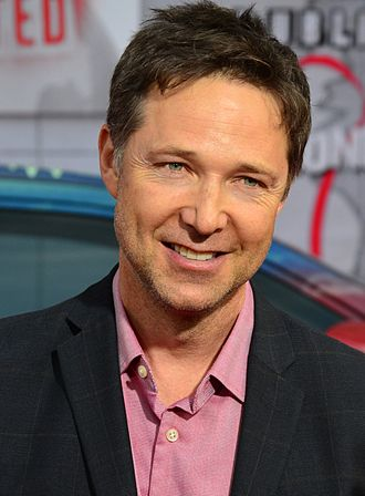 George Newbern - Newbern at the Muppets Most Wanted premiere on March 11, 2014