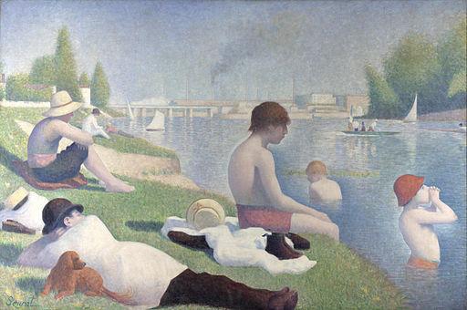Georges Seurat - Bathers at Asnières