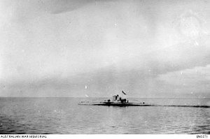 SM UC-42 - Image: German mine laying submarine UC 42. Sunk explosion of its own mines off Ireland on 10 September 1917