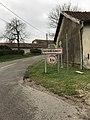 Germigney (Jura, France) le 5 janvier 2018 - panneau d'entrée.JPG