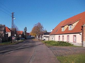 Geusa - Geusa village street