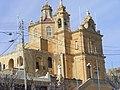 Ghajnsielem Gozo St Anthony of Padua Church 01.jpg