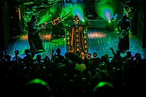 Ghost (Swedish band) - Image: Ghost live in Utrecht