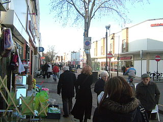 High Street generic primary business street of towns or cities