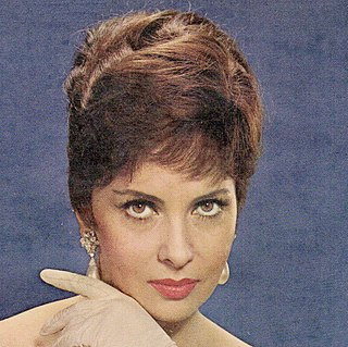 Gina Lollobrigida Italian actress