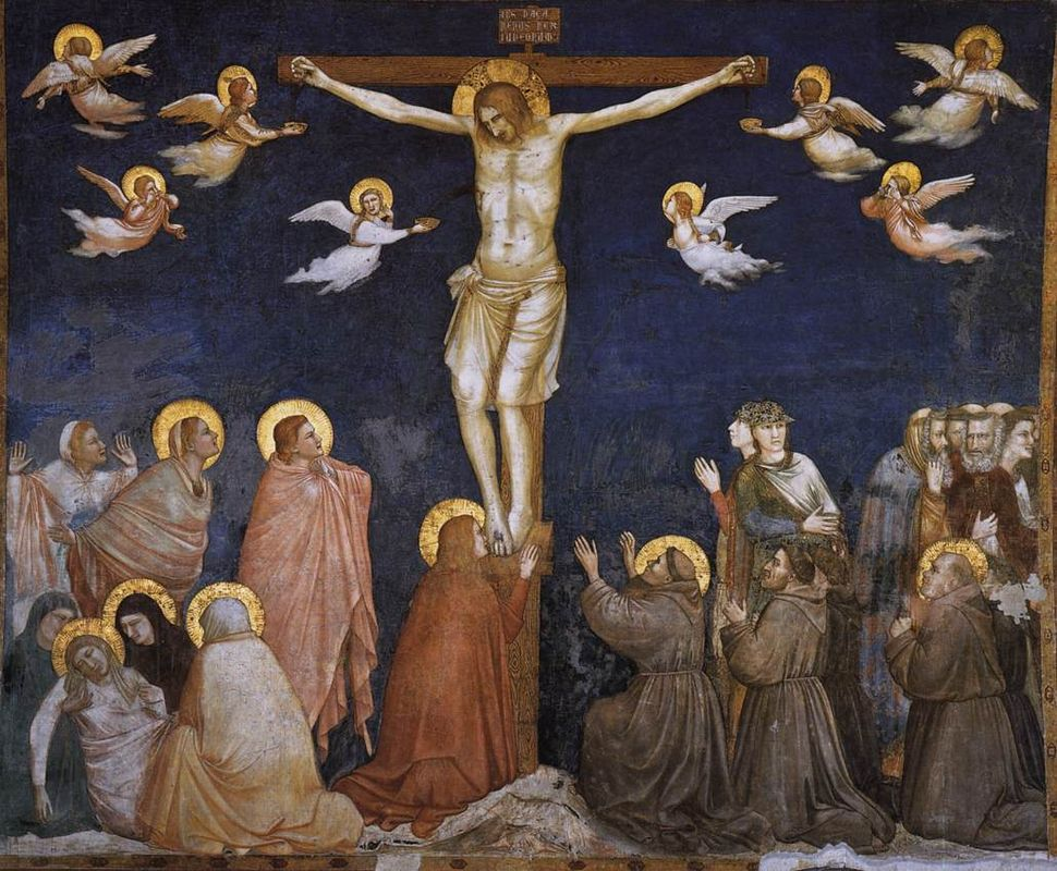 Giotto, Lower Church Assisi, Crucifixion 01