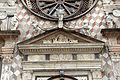 Giovanni antonio amadeo, facciata della cappella colleoni, 1472-75, portale centrale 03 timpano.JPG