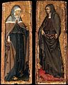 Giovanni di Paolo - Sts Clare and Elizabeth of Hungary - WGA09460.jpg