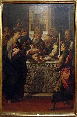 Girolamo imparato, circoncisione, 1606 ca.