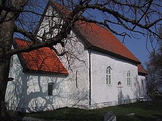 Giske - View of Giske Church