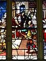 Gisors (27), collégiale St-Gervais-et-St-Protais, collatéral nord, verrière n° 23 - vie des saints Crépin et Crépinien 12.jpg