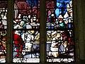 Gisors (27), collégiale St-Gervais-et-St-Protais, collatéral nord, verrière n° 23 - vie des saints Crépin et Crépinien 13.jpg