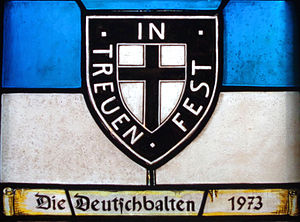 Baltic Germans - Baltic German stained glass