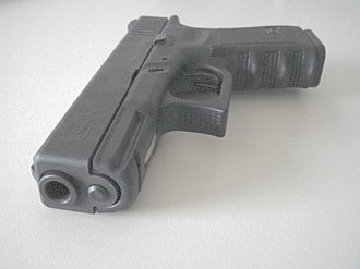 Glock Ges.m.b.H. - Front view of the Glock 19