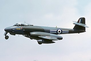 Gloster Meteor 1943 fighter aircraft family by Gloster; Britains first jet fighter