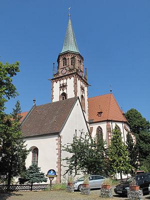 Glottertal - Image: Glottertal, die Sankt Blasius Kirche foto 12 2013 07 25 11.03