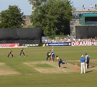 Gloucestershire County Cricket Club - Bristol County Ground before redevelopment