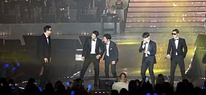 G.o.d - g.o.d performing in Incheon during the 'g.o.d to MEN' national tour
