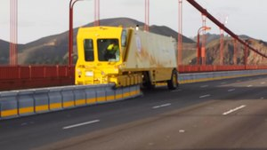 File:Golden Gate Bridge Moveable Median Barrier.webm