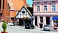 Golub-Dobrzyń, Polska - widok zabudowy Rynku. Dom pod Kapturem - panoramio.jpg