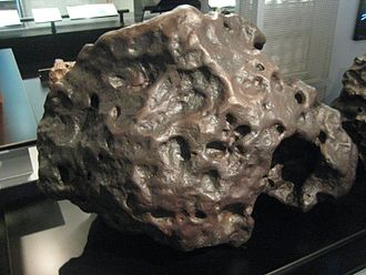 IAB meteorite - Goose Lake Meteorite is an IAB meteorite in the sLL subgroup (low-Au, low-Ni)