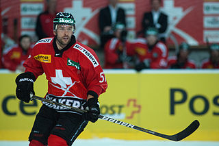 Goran Bezina Swiss ice hockey player