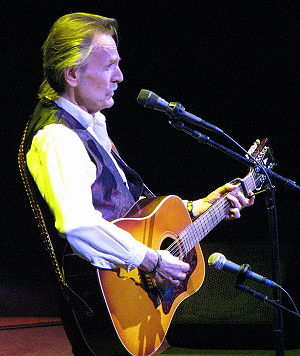 Gordon Lightfoot - Performing in Toronto, 2008, playing his twelve-string guitar