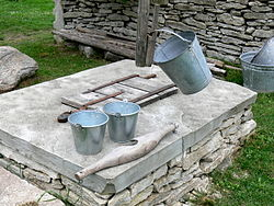 Water well buckets