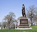Governor DeWitt Clinton statue at Green-Wood Cemetery (side) (61924).jpg