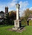 Grade I listed sundial, Blaise Hamlet, Bristol (geograph 3206825).jpg