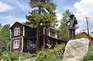 Kauffman House (Grand Lake, Colorado) - Image: Grand Lake CO Kaufmann House