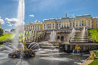 Peterhof Palace - Grand Peterhof Palace and the Grand Cascade.