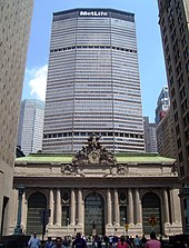 The MetLife Building, towering above Grand Central