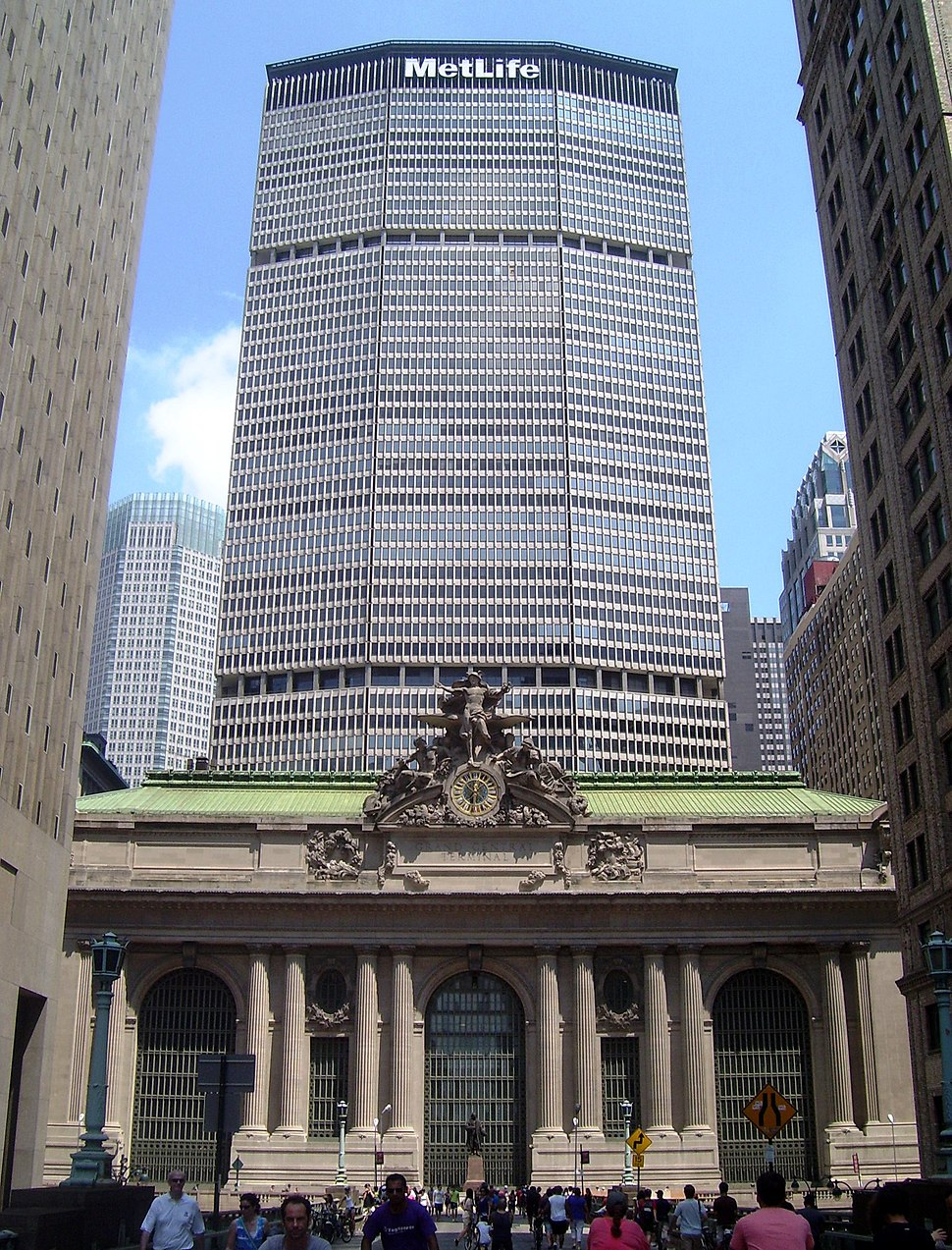 Grand Central Terminal MetLife Building Park Ave viaduct Summer Streets