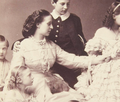 Grand Duchess Alexandra Iosifovna of Russia with her family.png