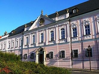 Nitra - The Grand Seminary at Pribina's Square