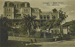 Estoril - The Grande Casino Internacional Monte Estoril as seen in a 1920s postcard