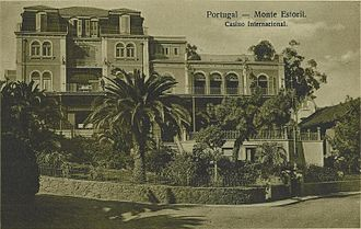 Estoril - The Grande Casino Internacional Monte Estoril as seen in a 1920s postcard