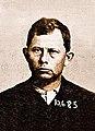 Grat Dalton, Tulare County Jail Mugshot, 1891.jpg