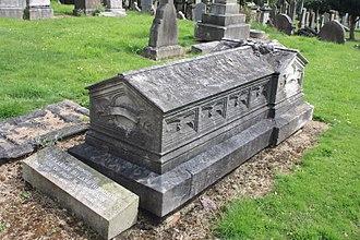 William Ballantyne Hodgson - grave of William Ballantyne Hodgson, Grange Cemetery