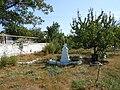 Graves near the church, Usatove.jpg