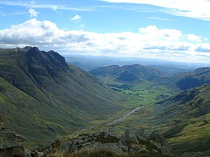 History of Cumbria - Great Langdale, site of the Langdale Axe Factory