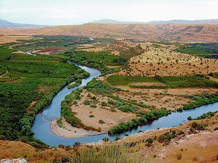 نهر الزاب الكبير - سقوط الدولة الأموية
