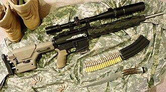 Bushnell Corporation - Grendel counter-sniper rifle with Bushnell Elite 4200 scope