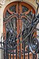 Grille et porte dentrée art nouveau (Jules Lavirotte) (5507079817).jpg