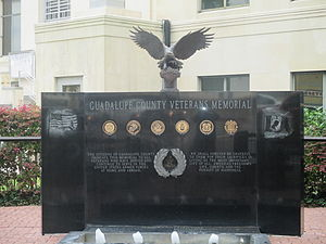 Guadalupe County, Texas - Guadalupe County Veterans Memorial